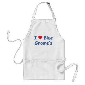 I Love Gnome's Standard Apron