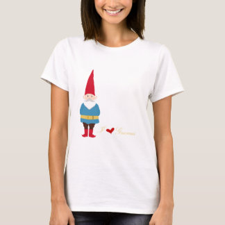 I Love Gnomes T-Shirt