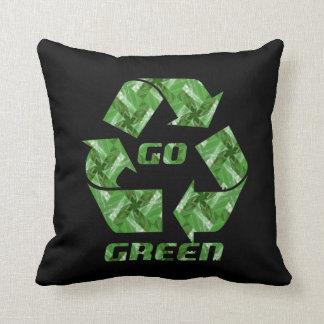 I-Love Go Green American MoJo Pillow Cushion