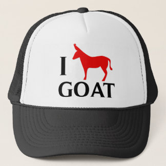 I Love Goat Trucker Hat