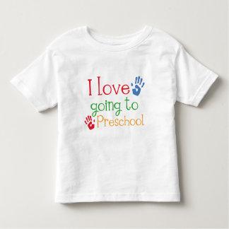 I Love Going To Preschool Toddler T-Shirt