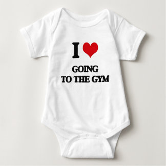 I love Going To The Gym Baby Bodysuit