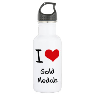 I Love Gold Medals 532 Ml Water Bottle