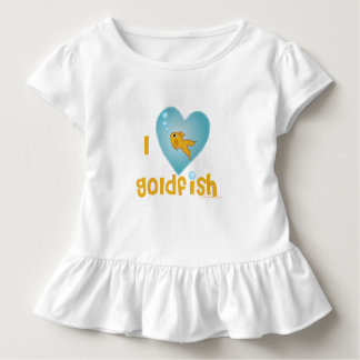 I love Goldfish Toddler T-Shirt