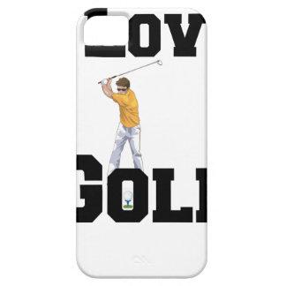 I Love Golf 01 iPhone 5 Case