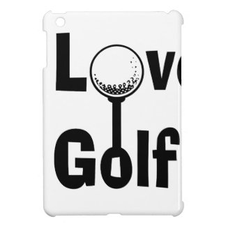 I Love Golf Cover For The iPad Mini