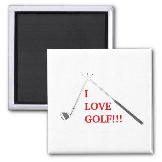 I love golf! magnet