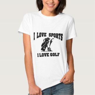 I love Golf T Shirts