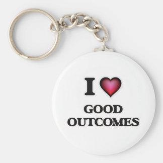 I love Good Outcomes Key Ring
