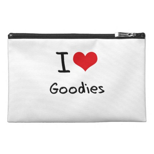 I Love Goodies Travel Accessories Bags