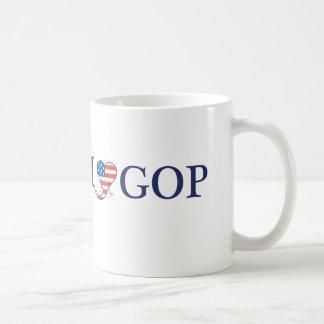 I Love GOP Classic White Coffee Mug
