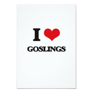 "I love Goslings 3.5"" X 5"" Invitation Card"