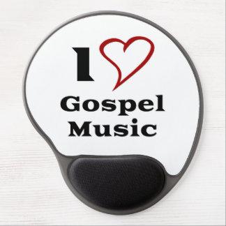 I Love Gospel Music Gel Mousepads