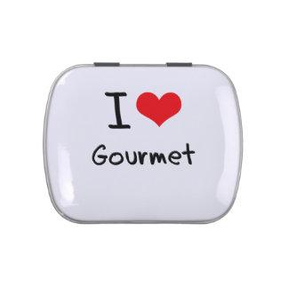 I Love Gourmet Candy Tin
