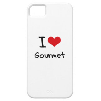 I Love Gourmet iPhone 5 Covers