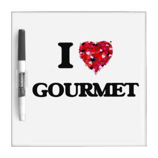 I Love Gourmet Dry-Erase Whiteboards