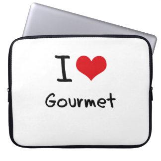 I Love Gourmet Laptop Sleeve