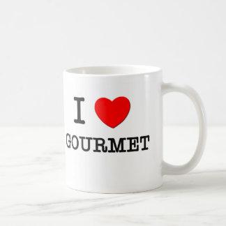 I Love Gourmet Coffee Mugs