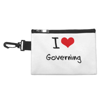 I Love Governing Accessories Bag