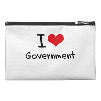 I Love Government Travel Accessories Bags