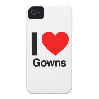 i love gowns Case-Mate iPhone 4 cases