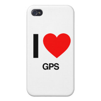 i love gps iPhone 4/4S cover