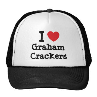 I love Graham Crackers heart T-Shirt Hats