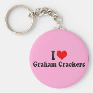 I Love Graham Crackers Key Ring