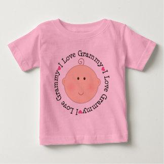 I Love Grammy Baby T-Shirt