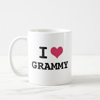 I LOVE GRAMMY COFFEE MUG