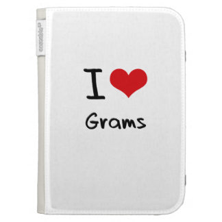 I Love Grams Kindle 3G Cover