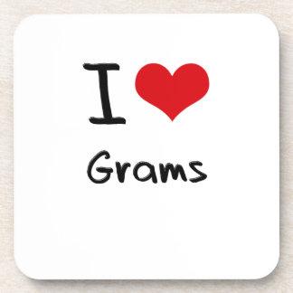 I Love Grams Coaster