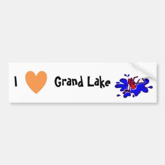 I Love Grand Lake Bumper Sticker