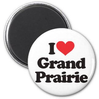 I Love Grand Prairie Magnet