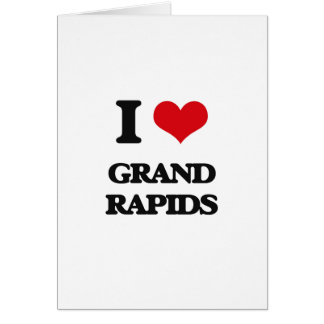 I love Grand Rapids Greeting Card