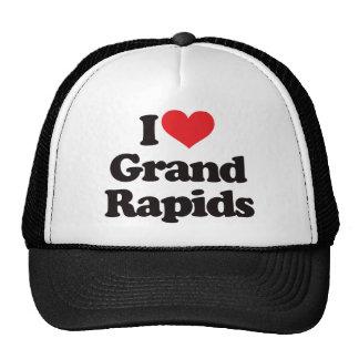I Love Grand Rapids Hats