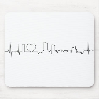 I love Grand Rapids in an extraordinary ecg style Mouse Pad