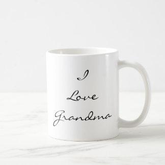 I Love Grandma Customizable Photo Mug