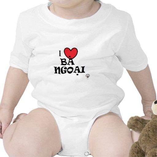 I love grandma (in Vietnamese) Tshirts