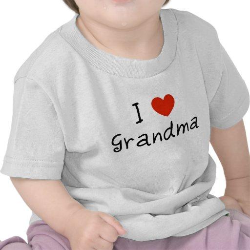 I Love Grandma Tees