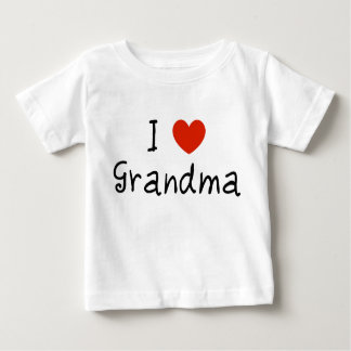 I Love Grandma T Shirt