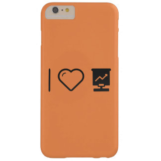I Love Graphic Screens Barely There iPhone 6 Plus Case