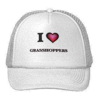 I Love Grasshoppers Cap