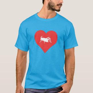 I Love Grasshoppers Cool Symbol T-Shirt
