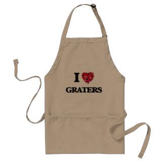 I Love Graters Standard Apron