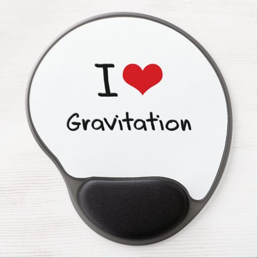 I Love Gravitation Gel Mouse Pads