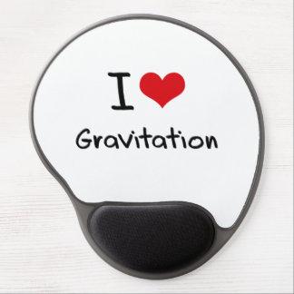 I Love Gravitation Gel Mouse Pads