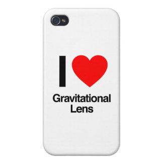 i love gravitational lens cover for iPhone 4