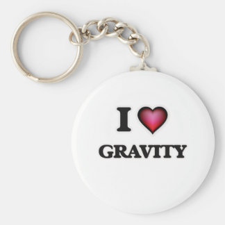 I love Gravity Key Ring