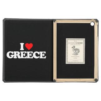 I LOVE GREECE iPad AIR COVER